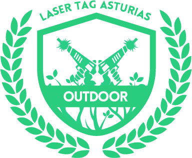 escudo representativo de laser tag outdoor