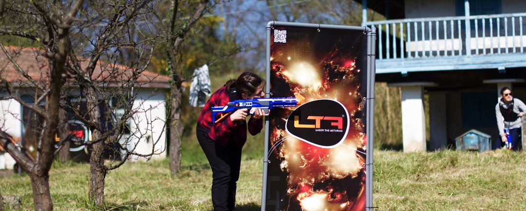 Laser tag bajo demanda outdoor