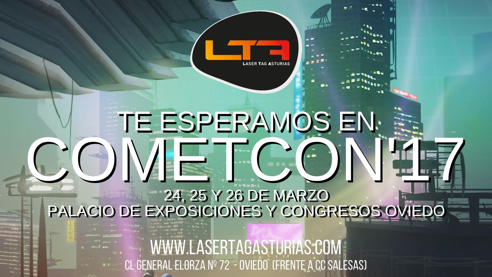 Laser tag asturias en la cometcon 2017