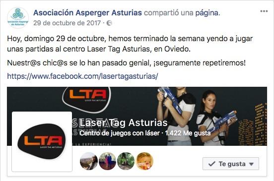 Laser Tag Asturias Local apto para el juego de discapacitados
