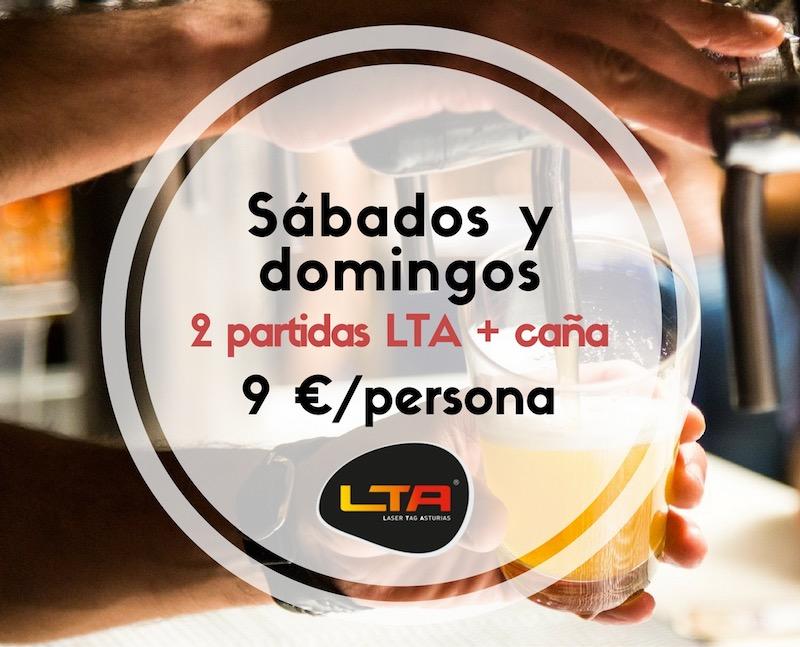 Promoción fin de semana Laser Tag Oviedo