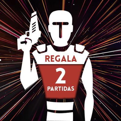 Regala Laser Tag (2 partidas)