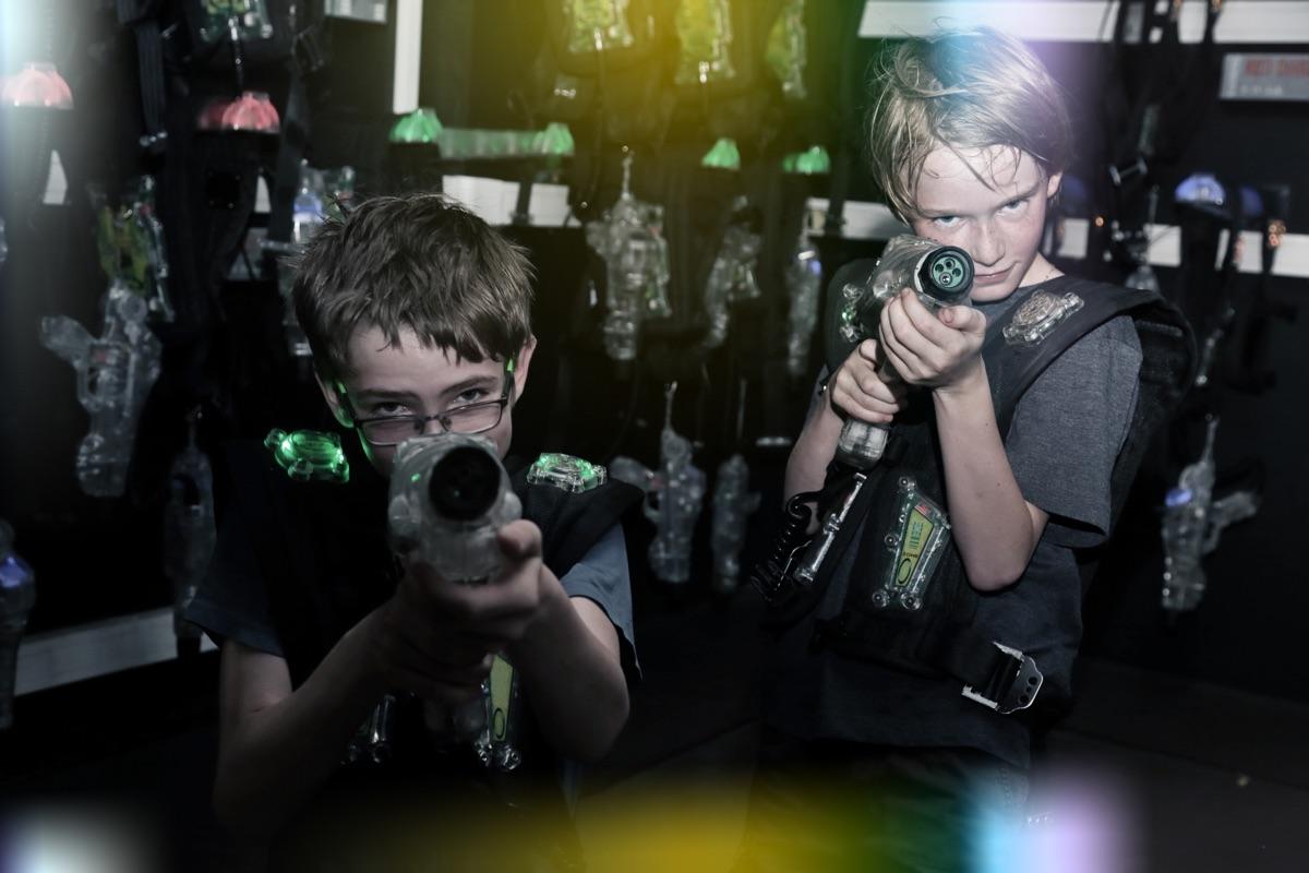 fiestas de cumpleaños en Laser Tag